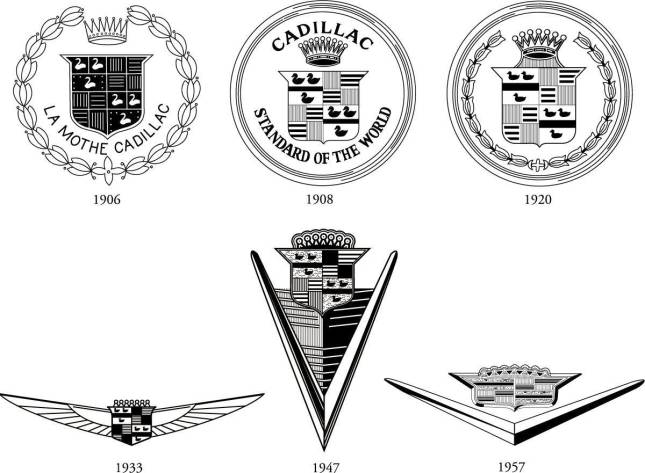 evolution logo cadillac
