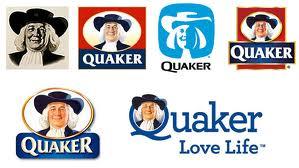 évolution logo Quaker