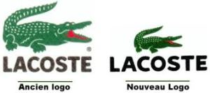 Evolution du logo