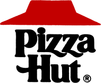 logo pizza hut 1967-1999